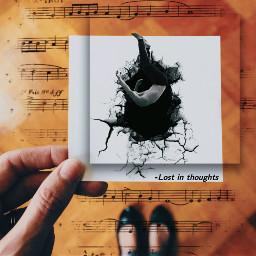 freetoedit falling music paper