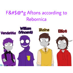 william aftonfamily rebornica fnaf language sorry