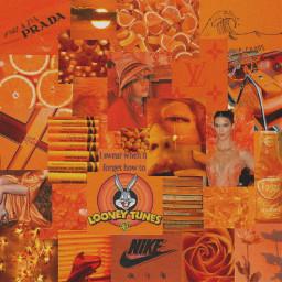 freetoedit orange orangeaesthetic orangecollage collage