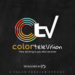 poster logo television freetoedit