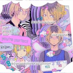 kenma kozume kenmakozume haikyuu haikyuuedit interesting complex edit complexedit anime france freetoedit
