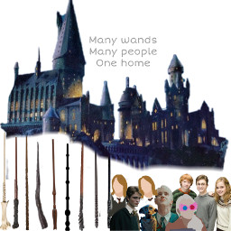hogwarts wands harrypottercast home freetoedit