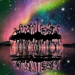 pukalani maui2021 doubleexposure blending flamingolove auroraborealis midnightmemories onthebeach freetoedit