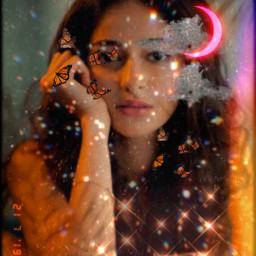 sparkle ananyapandey ananya glitter butterfly freetoedit