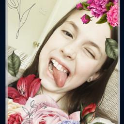 cute flowers freetoedit