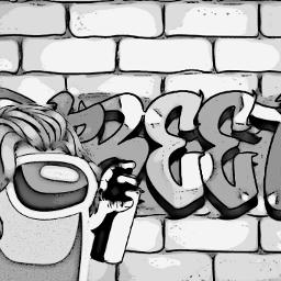 amongus black white blackandwhite background backgrounds wallpaper wallpapers among_us amongus_wallpaper amonguscharacter amonguscharacters amongus_wallpapers graffiti graffitistyle freetoedit