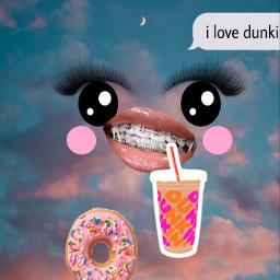 dunkin freetoedit