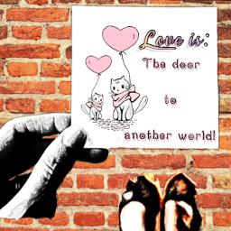 love messageonpaper graffiti graffitiwall lovemessage paperinhand paperwithmessage liveis loveisa freetoedit ircleaveanote leaveanote