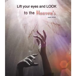 lookup liftyoureyes looktotheheavens heaven worship praying hands wings angelswings freetoedit