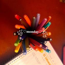 plumones monday class