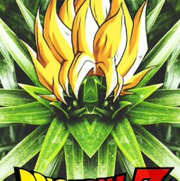 dragonballz plants mirroreffect hair trippy illusion freetoedit