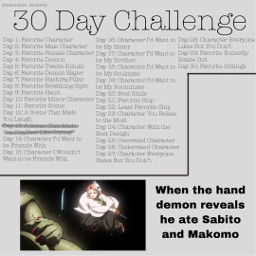 30daychallenge demonslayer kimetsunoyaiba