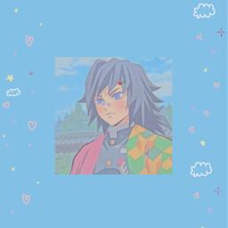 demonslayer tomiokagiyuu giyuu tomioka wallpaper background