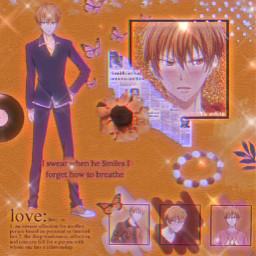 freetoedit kyo kyosohma fruitbasket trending glitter aesthetic oldpost anime animeboy sohma glittereffect like