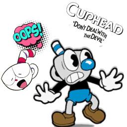 cupheaddontdealwiththedevil eccartooncallouts cartooncallouts freetoedit