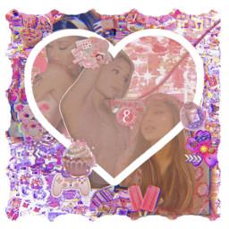 arinagrande music love idol singer purple blue pink