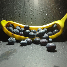 bannana noedit blueberry pcfavoritefruitsandveggies favoritefruitsandveggies