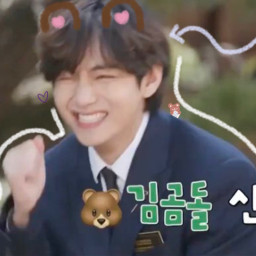 bear btsv vbts bts kimtaehyung doodle taehyung