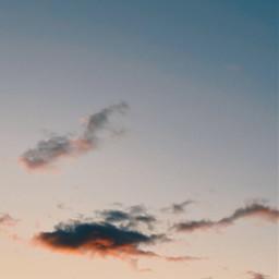freetoedit sky cloud clouds pink sunset blue color colors nature