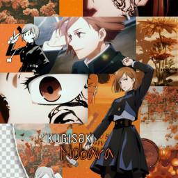 jujutsukaisen jujutsu nobarakugisaki nobara animewallpaper jjk freetoedit