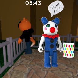 clowny piggy foxy foxypiggy clownypiggy freetoedit