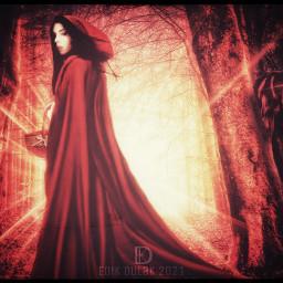 red redridinghood redhood littleredridinghood bigbadwolf wolf fairytail fantasy fiction story stories nurseryrhymes tails mothergoose woman girl female animaleye model freetoedit unsplash
