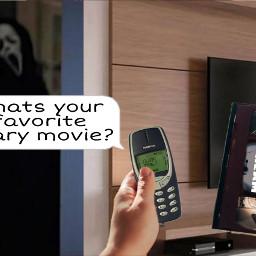 challenge scream ghostface horror vhs nolstagia scary movie freetoedit ircvhstape vhstape
