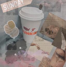dunkindonuts coffee sundaychurch freetoedit