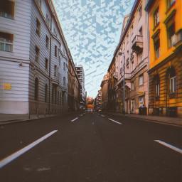 somewhere street freetoedit