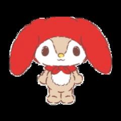 littleforestfellow sanrio bunny freetoedit