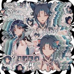 asthetic astheticallypleasing astheticedit animeedit anime icon iconedit sparkle sparkleedit animeboy genshinimpact genshin xiao xiaogenshinimpact videogames complexedit complexanimeedit