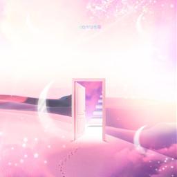 myedit myart desert pink door freetoedit