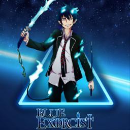 blueexorcist rin rinblueexorcist blueexorcistrin blueexorcistmanga freetoedit
