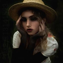 photography picsart madewithpicsart surreal scary girl