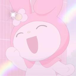 mymelody mymelodyedit mymelodyedits pinkfilteredit rainbow A