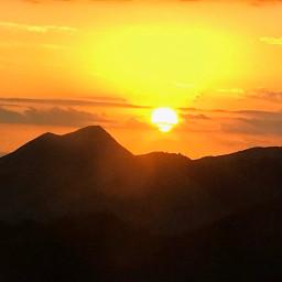 sunset photography sun sky template freetoedit