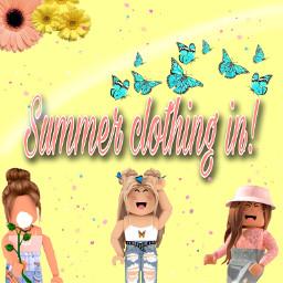 summer robloxsummer cute aesthetic editedbyme freetoedit