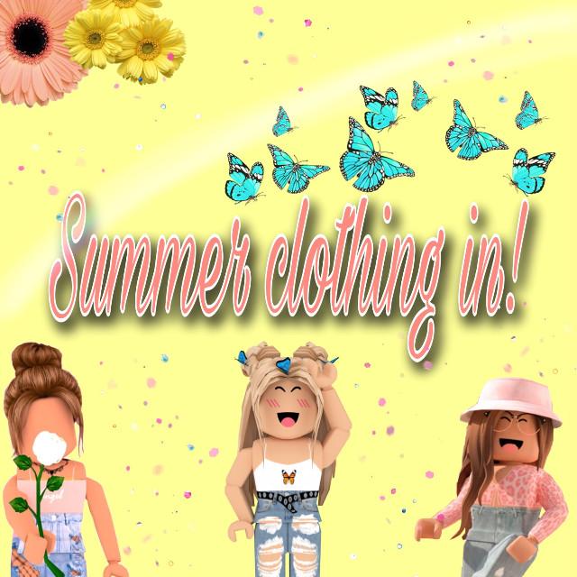 #summer #robloxsummer #cute #aesthetic #editedbyme