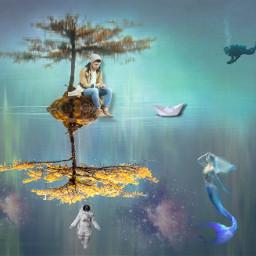 freetoedit unsplash illusions dreamer surrealistic heypicsart