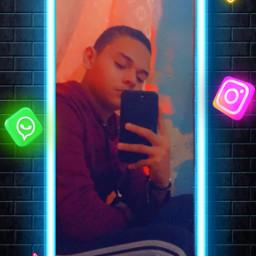 followme creative replay wallpaper neon sigueme honduras freetoedit