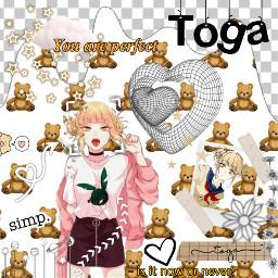 himikotoga gold white toga interesting freetoedit