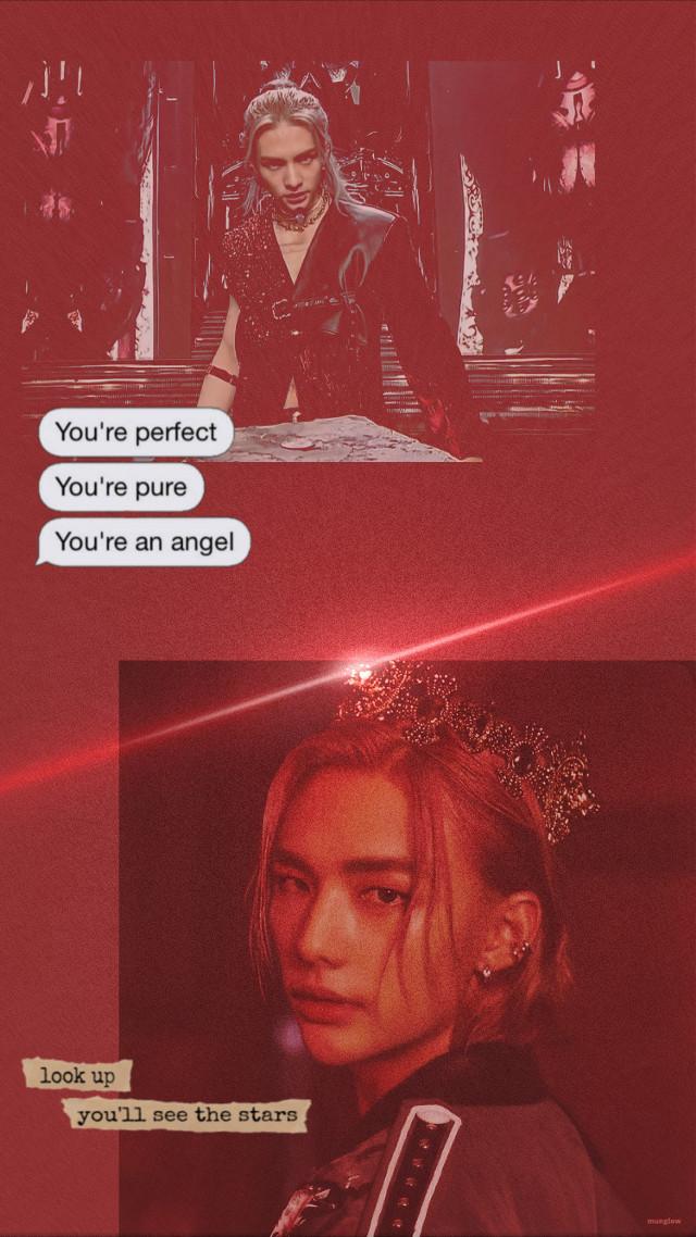 #hyunjin #hyunjinstraykids #staykids #skz #wallpaperkpop #korean #red #poland_edit ❤️