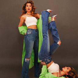 freetoedit addisonrae jeans girl photography remixit makeawesome green upsidedown tiktok rca rajacasablanca fashion addison fyp adissonrae