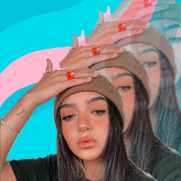 girl aesthetic aestheticgirl pink glitter glow outfit calleypoche calle poche calleypocheoficial remixit filter colors mover freetoedit