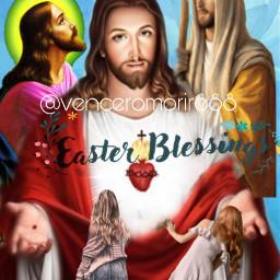 easterblessings jesus freetoedit