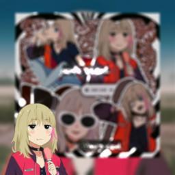 freetoedit kawaiirika wondereggpriority anime animegirl