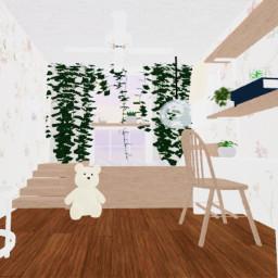 aesthetic bedroom aestheticbedroom gfx roblox