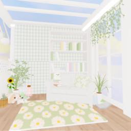 aestheticbedroom bedroom gfx roblox cute green