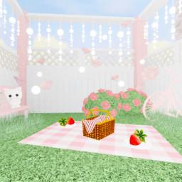 cute aesthetic bunny gfx pink roblox