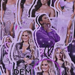 demilovato demi lovato demilovatoedit wallpaper purple edit art demilovatowallpaper complexedit complex remixit freetoedit glitter singer celeb celebrity popstar superstar fanart